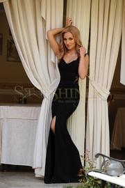 rochii de seara lungi elegante negre