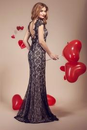 rochii din dantela elegante lungi
