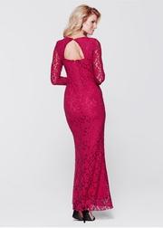 rochii elegante lungi din dantela ieftine