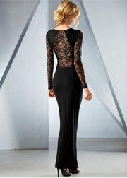 rochii lungi din dantela elegante