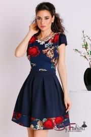 rochii cu flori de primavara colorate