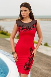 rochii de ocazie scurte rosii
