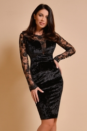 rochii cu maneca lunga de seara negre
