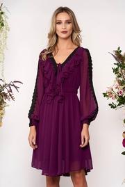 rochii de seara elegante cu maneca lunga