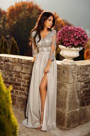 rochii lungi cu maneca lunga
