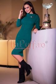 rochii tricotate lungi elegante