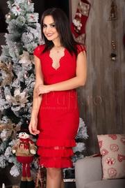 rochii de seara de nunta rosii