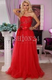 rochii de seara lungi de nunta rosii