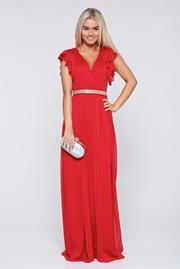 rochii de seara lungi pentru nunta rosii