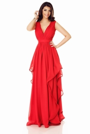 rochii de seara lungi tip sirena rosii