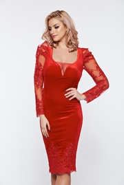 rochii de seara pentru nunta rosii