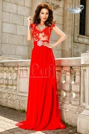 rochii de seara rosii lungi pentru nunta