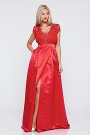rochii de seara rosii lungi