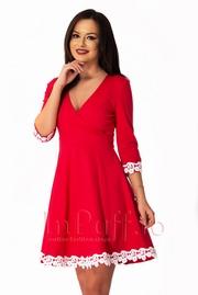 rochii de seara rosii pentru valentine's day