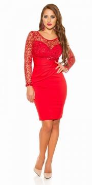 rochii de seara rosii scurte