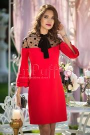 rochii rosii de seara pentru nasa