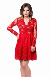 rochii rosii de seara pentru nunta