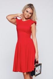 rochii scurte de seara rosii elegante