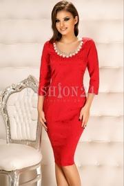 rochii scurte de seara rosii ieftine