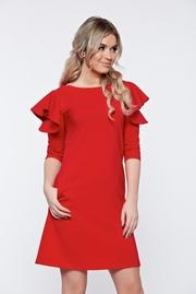 rochii scurte de seara rosii pentru banchet