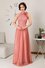 rochii de seara elegante lungi rosii