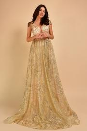 rochii de seara lungi cu imprimeuri florale