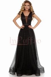 rochii de seara lungi negre 2018