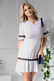 rochii de vara elegante albe