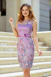 rochii de vara elegante cu floricele
