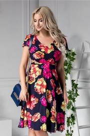 rochii de vara elegante cu imprimeu floral