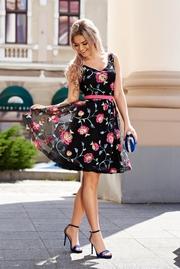 rochii de vara elegante din dantela neagra