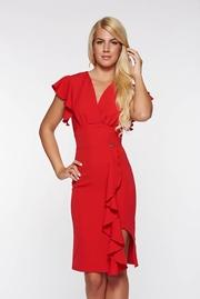 rochii de vara elegante rosii