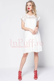rochii elegante de vara albe