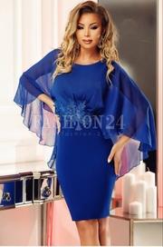 rochii albastre lungi de vara vaporoase