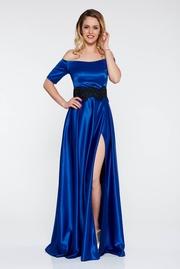 rochii albastre lungi de zi