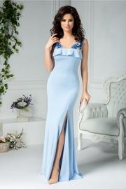 rochii albastre lungi elegante pentru nunta