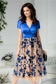 rochii albastre lungi elegante