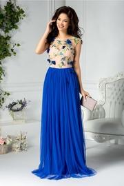 rochii albastre lungi ieftine