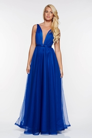 rochii albastre lungi mulate pe corp