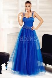 rochii albastre lungi pentru banchet