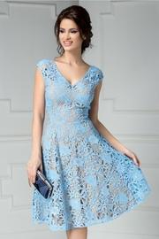 rochii albastre lungi reduceri