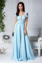 rochii albastre lungi sirena