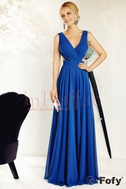 rochii albastre lungi tip sirena