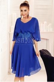 rochii albastre scurte de seara