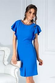 rochii albastre scurte de zi