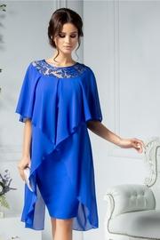 rochii albastre scurte elegante de nunta