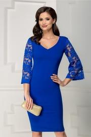 rochii albastre scurte elegante ieftine