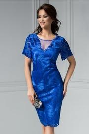 rochii albastre scurte elegante pentru nunta
