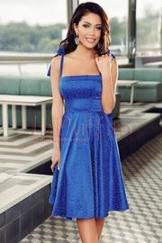 rochii albastre scurte elegante