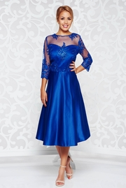 rochii albastre scurte ieftine